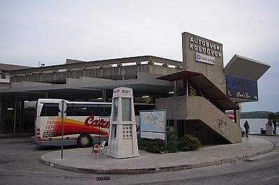 Autobusni kolodvor Šibenik
