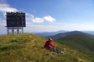 Lička Plješivica - vrh Ozeblin